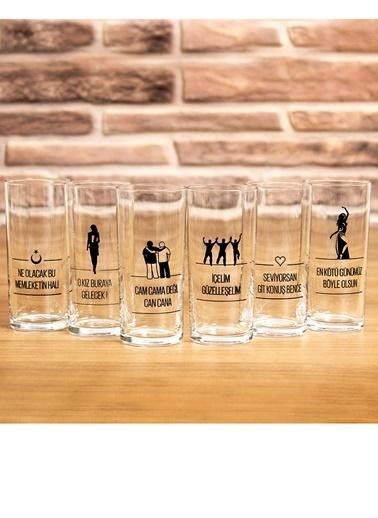 6 İçelim Rakı Seti-Joy Glass